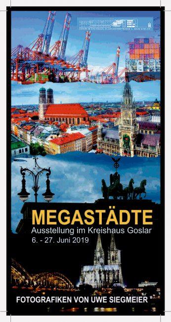 Megastädte Hamburg Berlin Köln München